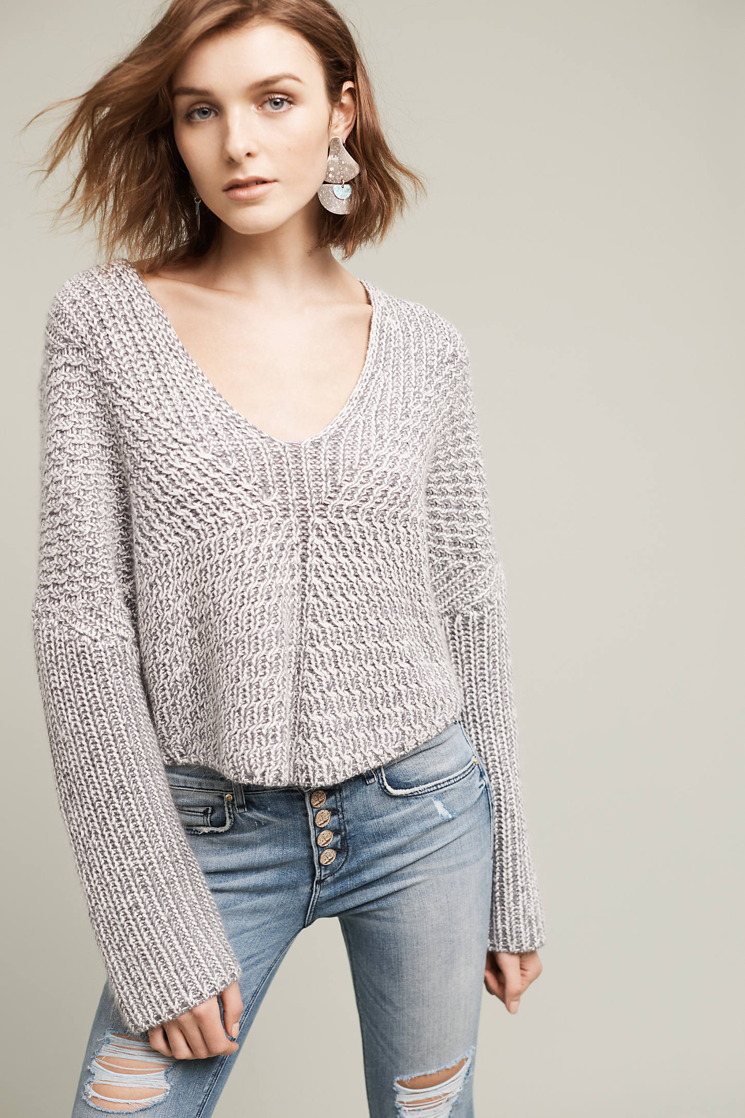 Hart Cropped Pullover