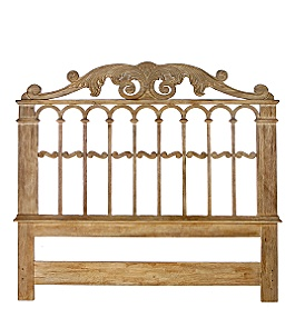 Anthropologie - :  home bed frame wood gate