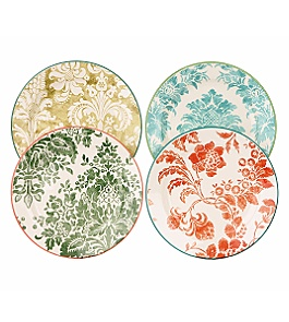 Anthropologie - wallpaper plates set :  plate anthropologie home accessories home goods