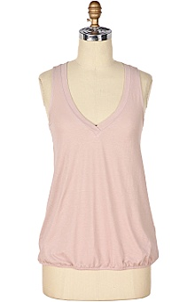 anthropologie: Isadora Blouson V-Neck :  simple tank