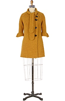 Sweater coat @ Anthropologie.
