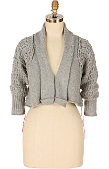 Anthropologie - Limelight Cropped Cardigan :  clothes jackets knit sweaters