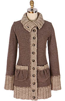 Cold Weather Couture: Anthropologie - grange sweater coat :  clothing sweaters clothes jackets