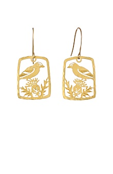 Anthropologie - Binocular Drops earrings from anthropologie.com