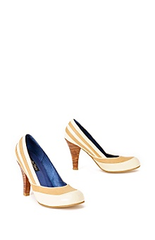 Caramel Cream Heels from anthropologie.com