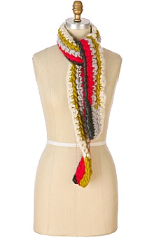 taffy pull scarf - Anthropologie :  wool scarf women handcrafted