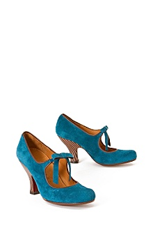 Anthropologie - :  shoes blue mary janes anthropologie