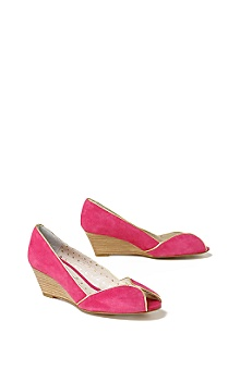 Anthropologie - :  spring anthropologie summer wedge shoe