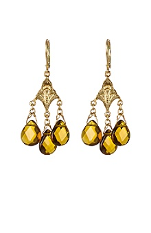 Anthropologie - :  earrings topaz