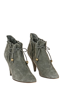 Anthropologie :  gray boots grey shoes