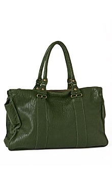 Anthropologie - Sectional Carry-all :  handbag purse green fall