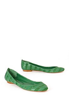 Anthropologie - :  spring shoe shoes green