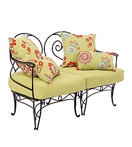 anthropologie.com - :  fashion anthropologie loveseat wrought iron