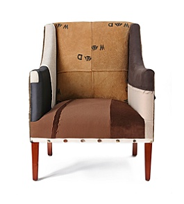 Bertram chair :  southwestern multi-fabric bertram chair seating