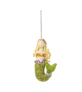 Anthropologie - :  sea holiday mermaids ornaments