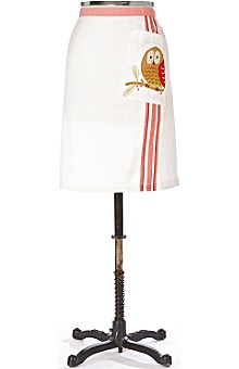 it's a hoot apron :  home apron owl women
