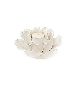 water lily votive candle holder