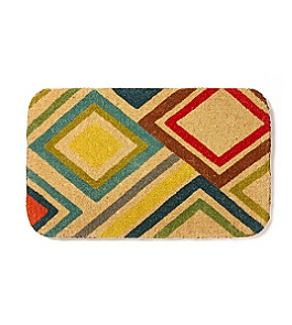 Changing Lanes Welcome Mat :  doormat geometric welcome mat anthropologie