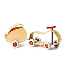 Go-go racer & hitch :  toy anthropologie dwell magazine kids
