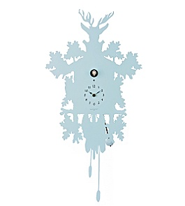 Anthropologie - silhouette cuckoo clock