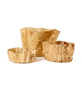 Anthropologie - Burl Wood Bowl from anthropologie.com
