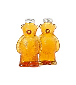 Anthropologie - honey bear shakers :  salt and pepper anthropologie home decor fun