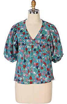 fernanda blouse @ anthropologie :  blouse pretty