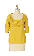 Anthropologie - A New Wrinkle Pullover :  pullover clothing womens sweater