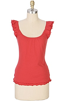 Anthropologie - yelina tank :  keyhole sleeve tank back