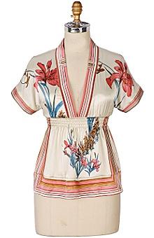 Anthropologie - Japanese Iris Kimono