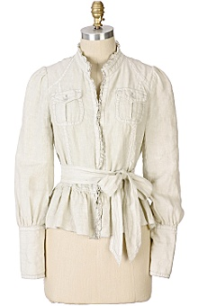 Anthropologie - :  jackets clothing anthropologie ivory