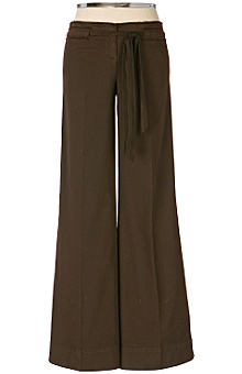 Anthropologie - :  pants trousers drawstring waist cotton