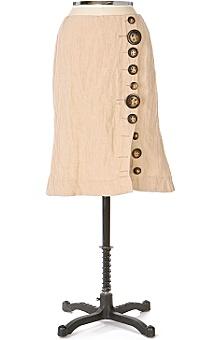 Linen Tulip Skirt