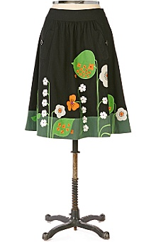 Anthropologie - Beanstalk Skirt :  womens clothing anthropologie skirt