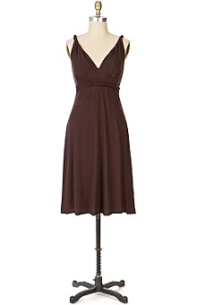 Anthropologie - :  anthropologie brown dresses velvet dress
