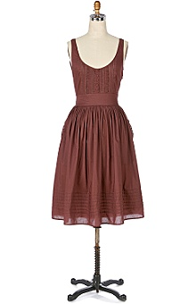 Anthropologie - :  fashion feminine brown dresses