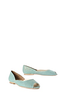 Anthropologie - :  blue peep toe robins egg blue shoes