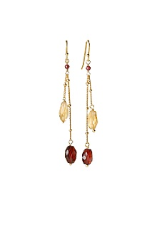 Anthropologie - :  gemstones gold earrings jewelry