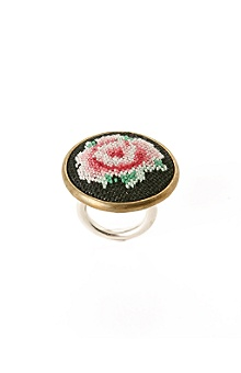 needlepoint ring