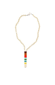 Anthropologie - :  necklace beaded handmade womens