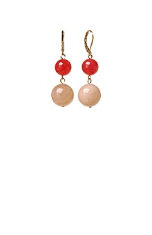 Anthropologie - :  spheres colour faceted earrings