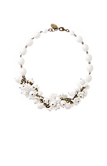 Anthropologie - conch flower choker from anthropologie.com