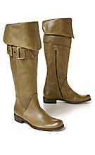 Cerignola Boots - Anthropologie.com :  designer accessories italian shoes olive green anthropologie