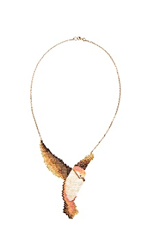 Anthropologie - :  beaded bird osprey necklaces
