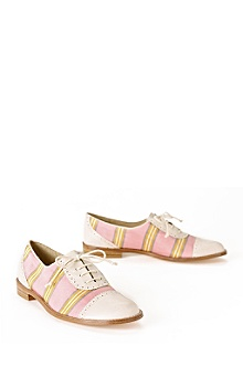 Anthropologie - Parrotfish oxfords :  stripe shoe wear