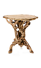 Anthropologie.com > Living > Furniture :  whimsical wood table unique side table