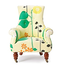 Astrid Chair, Helsinki Floral :  astrid chair furniture armchair anthropologie