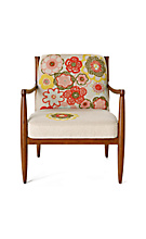 Anthropologie.com > Living > Furniture :  home furniture armchair bold print