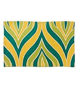 Crewel Hosta Rug :  anthropologie crewel colour flooring