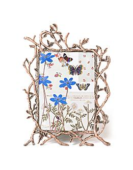 copper twig frame - Anthropologie.com :  frame copper picture frame home accessory